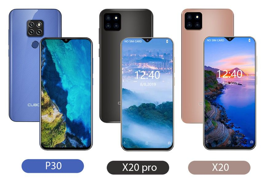 CUBOT X20 Pro, X20 and P30画像1