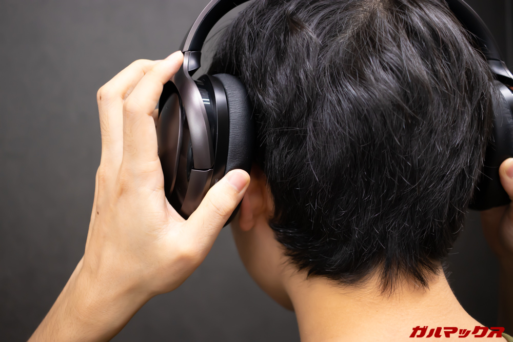 Mu6は長時間の装着でも耳が痛くなることは無かった。