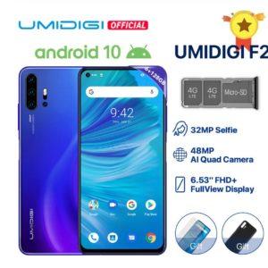 UMIDIGI F2登場。AIクアッドカメラを搭載したミドルレンジスマホ