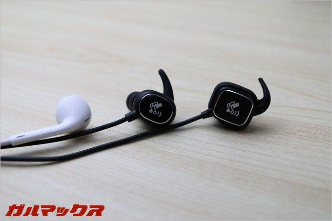 Bluetoothヘッドセットとしてはコンパクトな部類