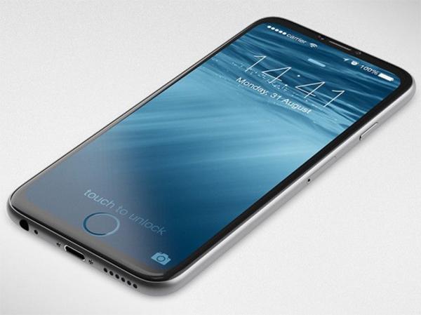 iPhoneの全面液晶コンセプト