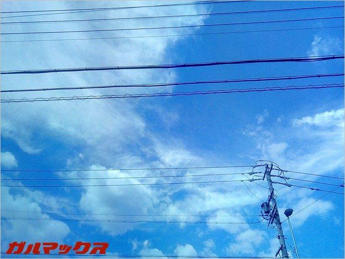 CUBOT DINOSAURで空を撮影