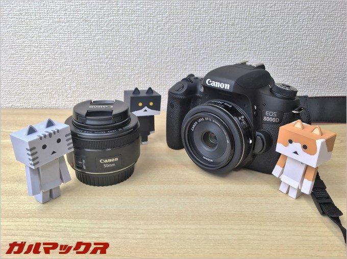 「EF50mm f/1.8STM」と「EFS24mm f/2.8STM」は単焦点レンズ選びで悩むところ