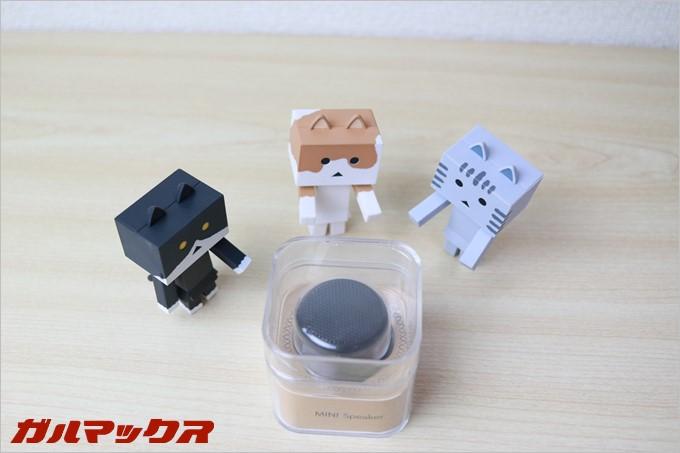 手のひらサイズの超小型Bluetoothスピーカー
