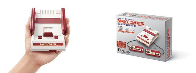 30本のファミコン人気タイトルを収録したニンテンドークラシックミニ ファミリーコンピュータが11月10日に発売!