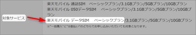 最安のデータSIM(ベーシックプラン)でもキャンペーン価格でゲット可能!
