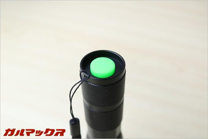 電源ボタンはグリーンで視野性も良いです。
