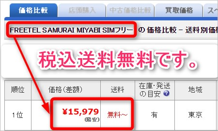 SAMURAI MIYABIは現時点で2万円を大幅に下回る。