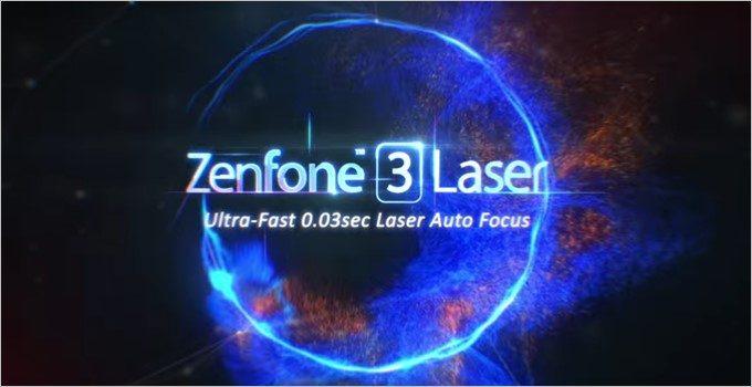 ZenFone3 Laserは新世代のミドルスペックスマートフォン