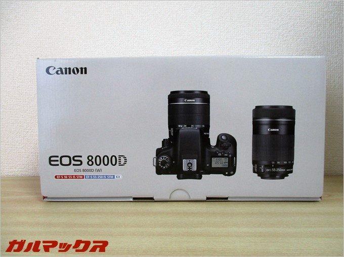 2016年に手に入れて気に入ったカメラはキヤノンの8000D