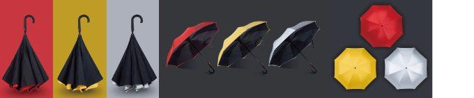 REMAXの傘は3カラー展開