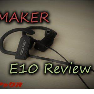 OMAKER「E10」Bluetooth防水イヤホンの使い勝手や音質をレビュー!