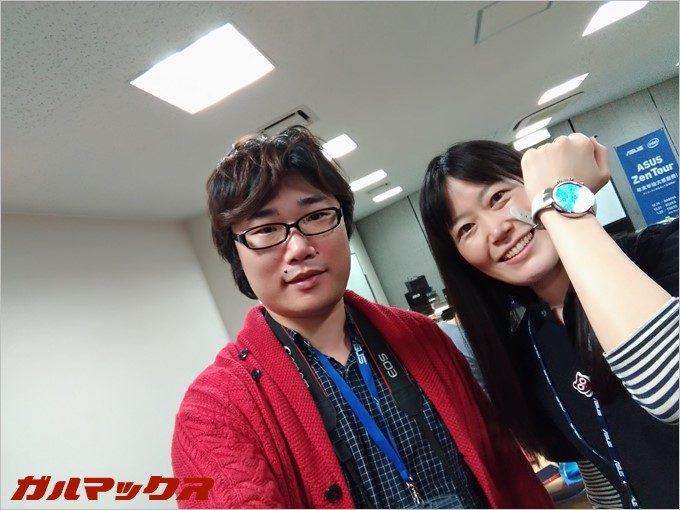 ASUSサンタから頂いた前太郎の自撮り棒を使ってZenFone3で撮影!