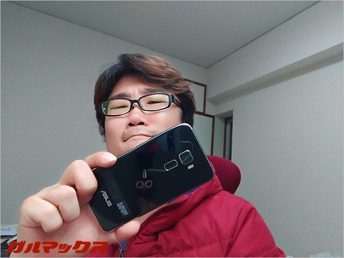普段からZenFone3を愛用するガルマックス管理人