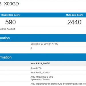 ASUSの新端末?型番「X00GD」のベンチマーク見てスペック妄想
