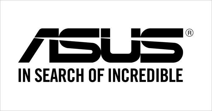 ASUSのロゴです!