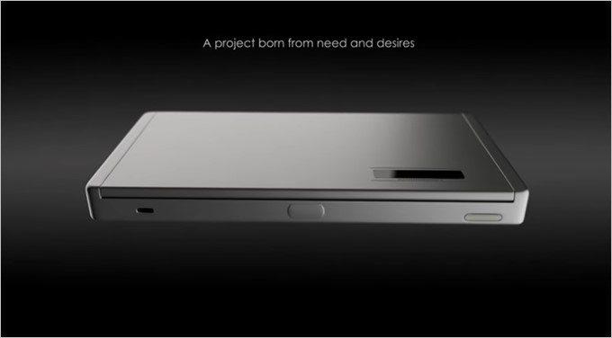 GraalPhoneの本体サイズは7型