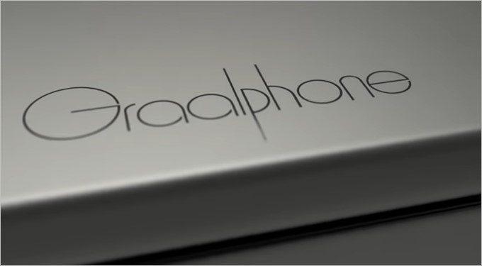 PC・3Dカメラ、スマホ、タブレットが一体型となったGraalPhone。