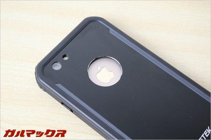 BESTEKの防水防塵iPhoneケースはiPhone6sのカメラもピッタリ。