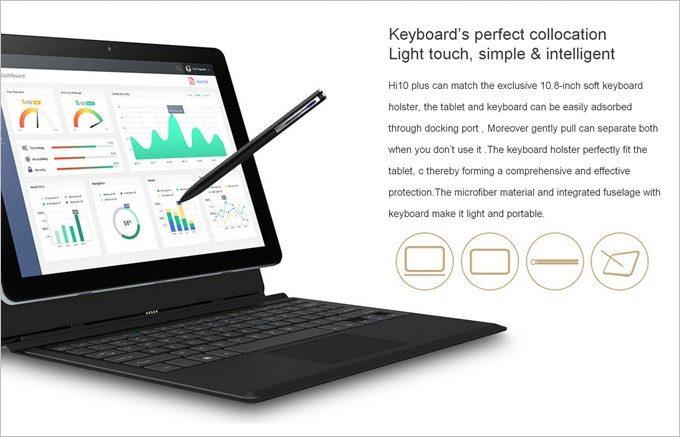 CHUWI HI10 PLUSはキーボードやペンなど、豊富なオプションを取り扱っている事も魅力。