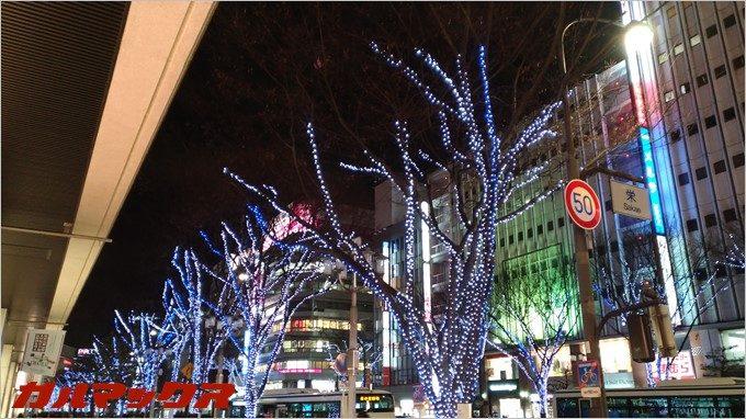 Zenfone3の夜景モードで撮影。