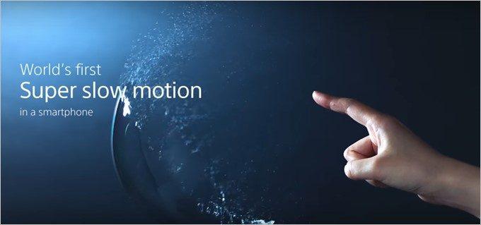 Xperia XZ Premiumは960FPSのスーパースローモーションに対応