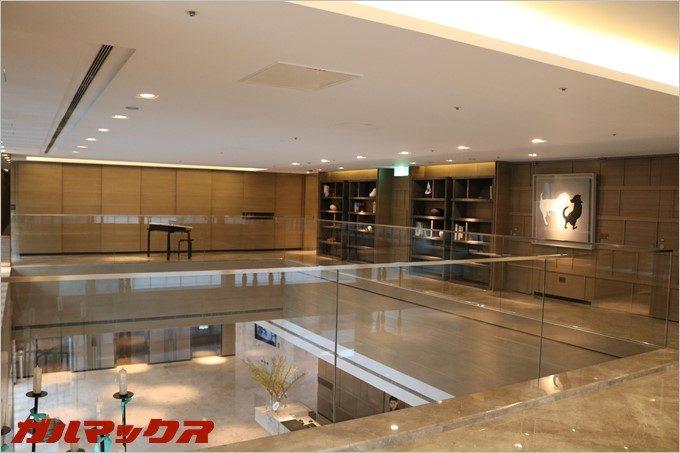 美術館に居るような錯覚に陥るハンブルハウス台北。