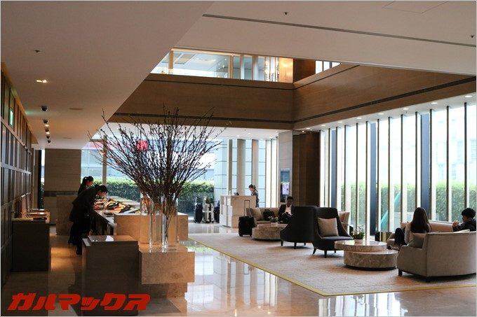 ハンブルハウス台北のホテルフロントは日本語も通じました。