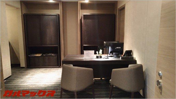ハンブルハウス台北の商談スペースは広々とした空間。