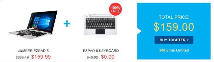 タブレットとキーボドセットでタブレット単体よりも大幅に安い!