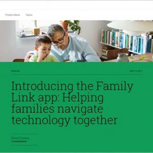 Google、13歳未満の子供を持つ両親がAndroidスマホを制御出来る「FamilyLink」サービス提供へ