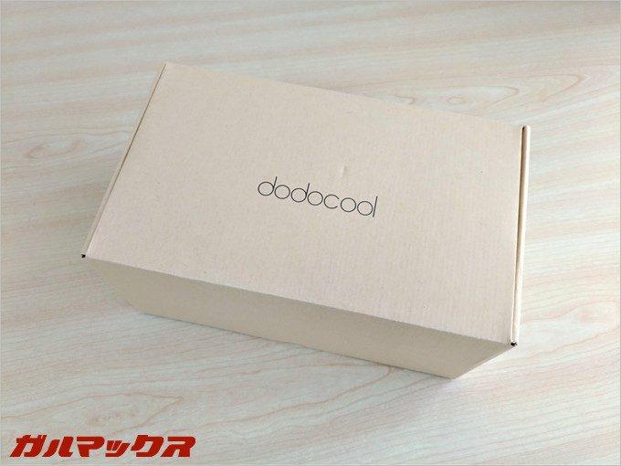 dodocoolのロゴ入りの箱で届きました