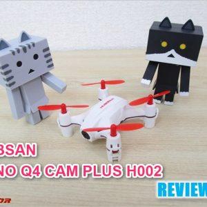 極小ドローンHUBSAN「NANO Q4 CAM PLUS H002」レビュー!