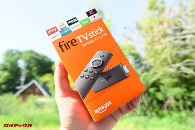 Fire TV Stickのレビュー!