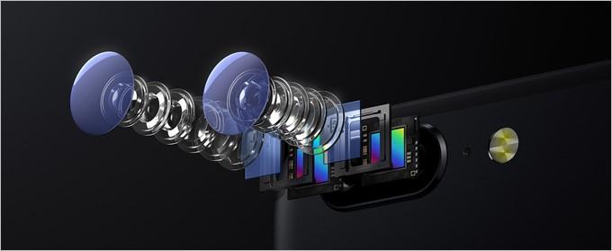 OnePlus 5はデュアルカメラ、インカメラの全てでSONYのセンサーを利用している。