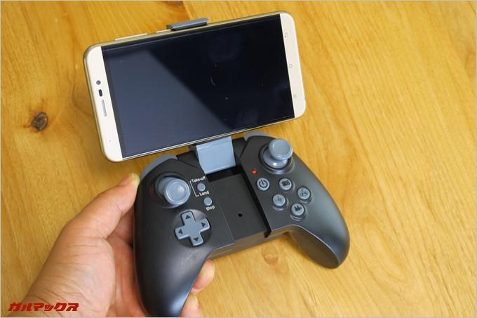 プロポにはスマートフォンが接続可能