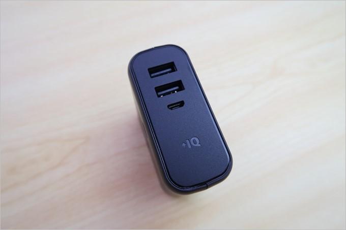 Ankerの高速充電技術であるIQが備わった2ポート